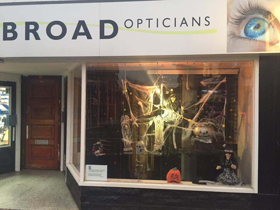 Broad opticians Alsager